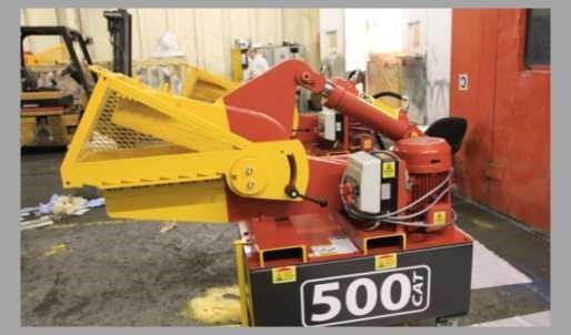 McIntyre 500 CAT elektromos aligátor olló