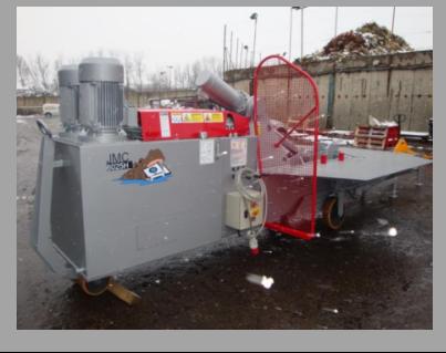 McIntyre 5025 Hippo Baler bálázógép